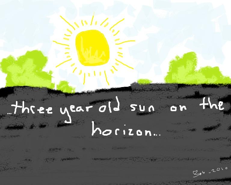 Three Year Old Sun