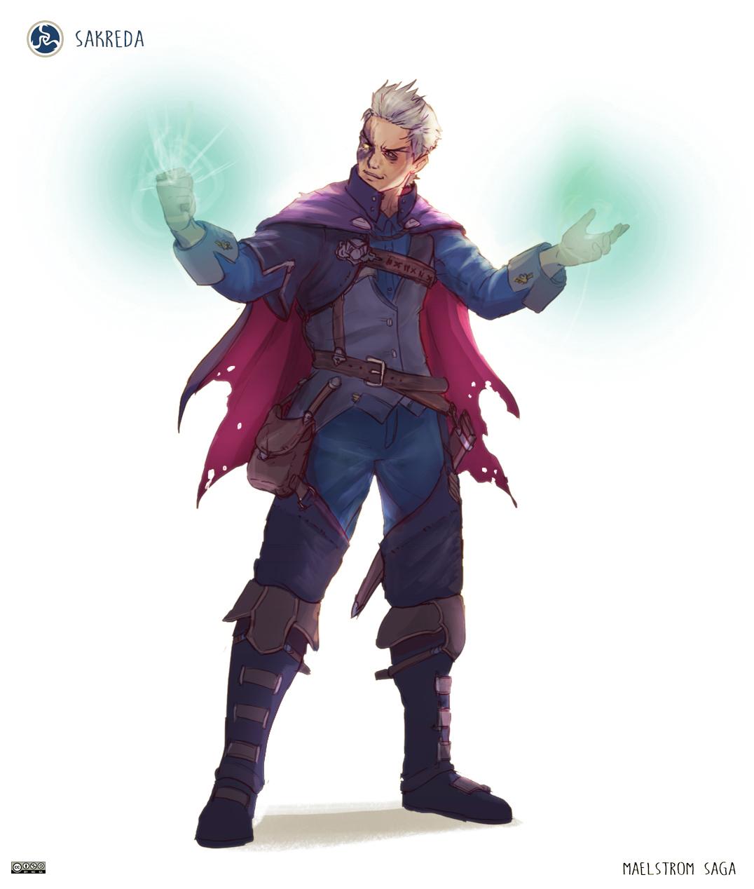 Maelstrom Saga - Villain