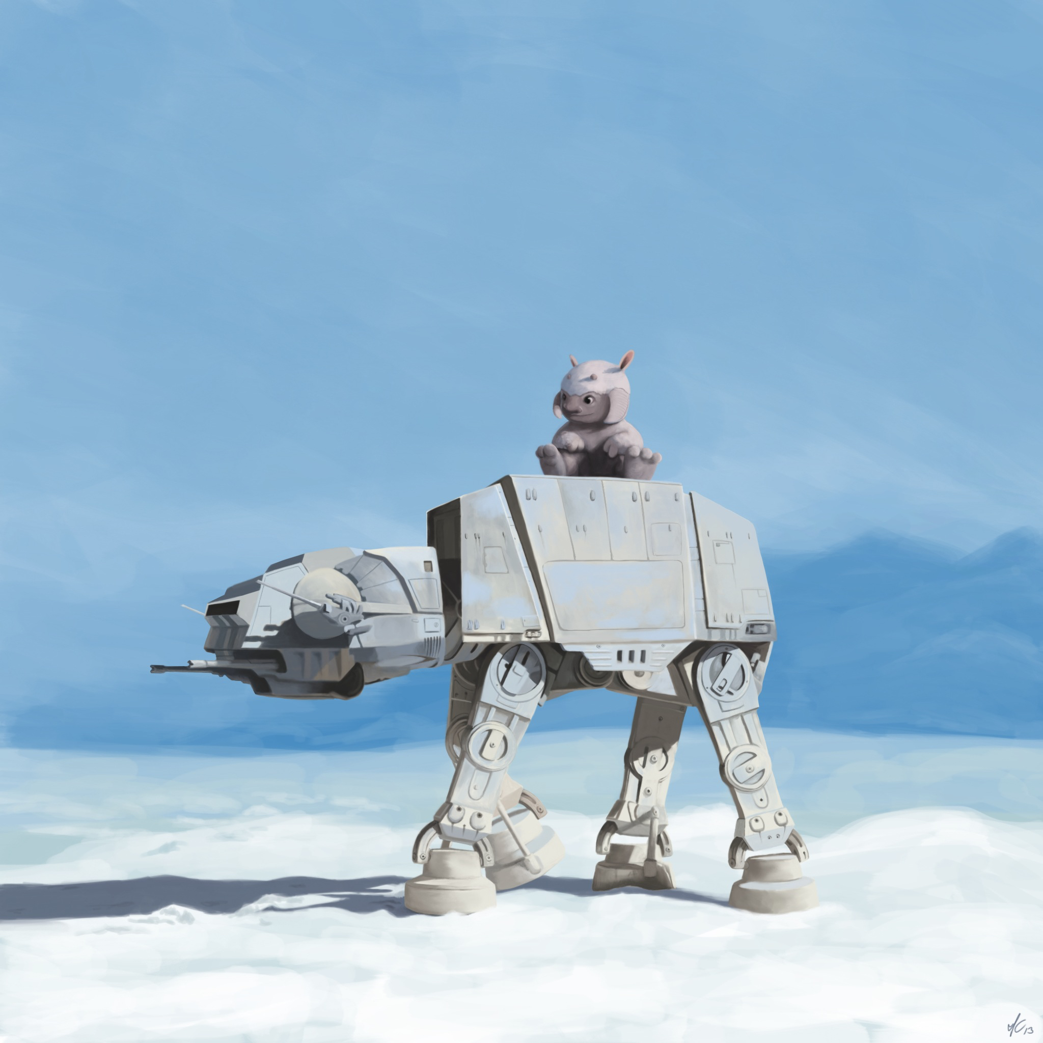 AT-AT & Tauntaun