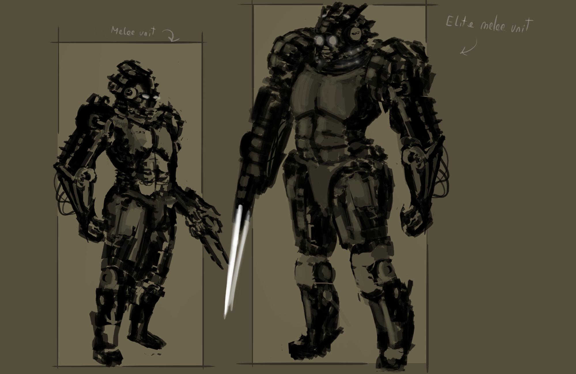 Space soldier design