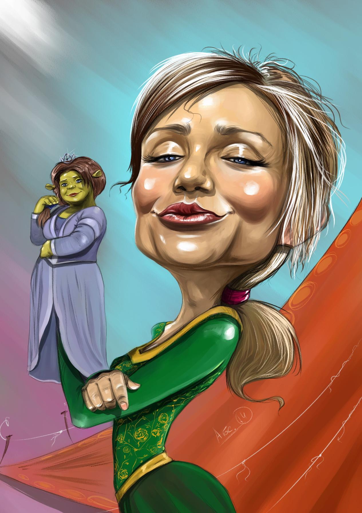 Cameron Diaz - Caricature