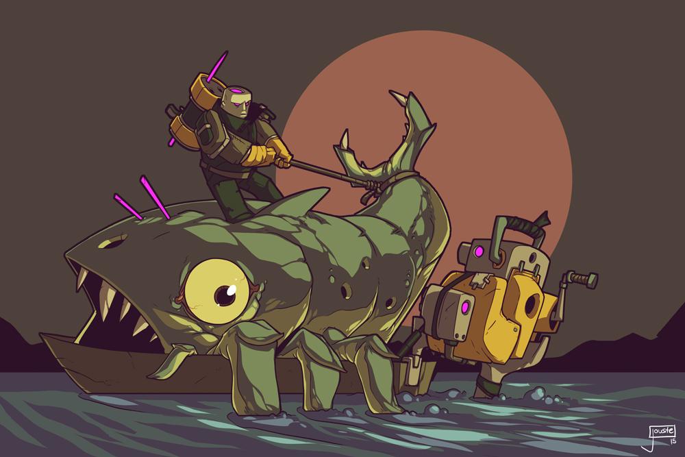 katch that krakenfish!