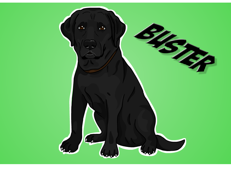 Buster the dog