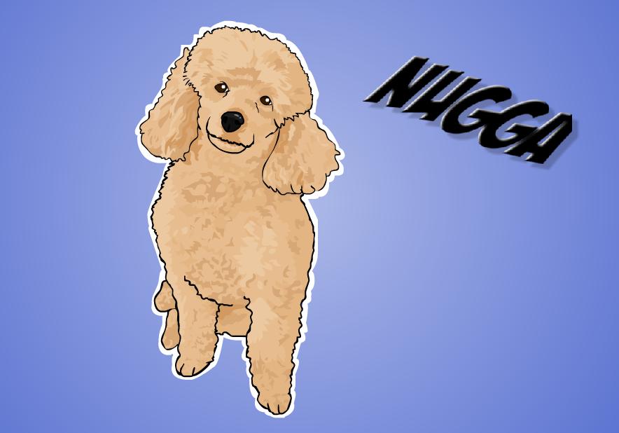 Nugga the dog