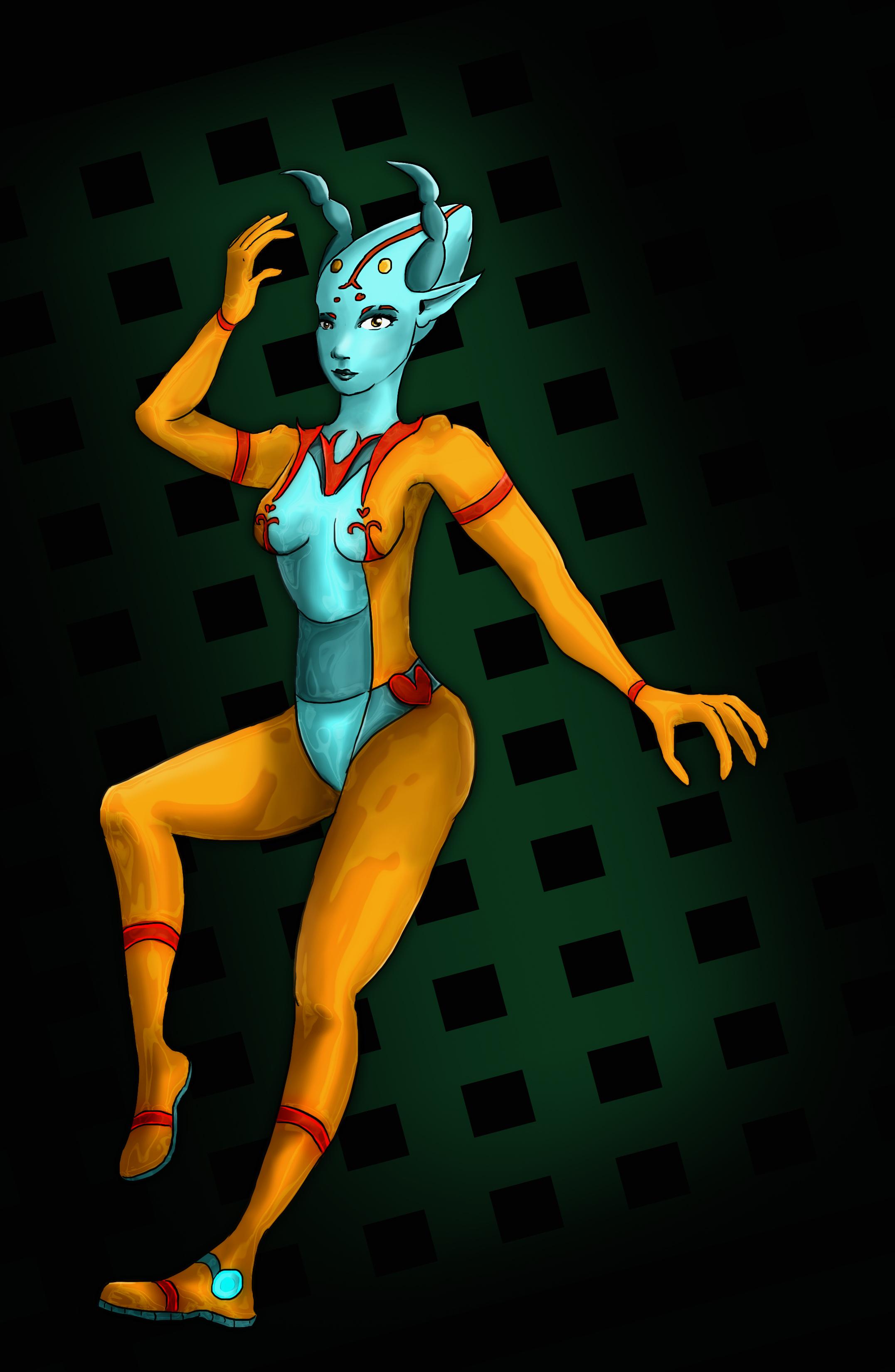 Alien Lady