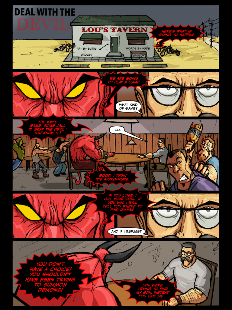 DEAL WITH THE DEVIL PAGE 1