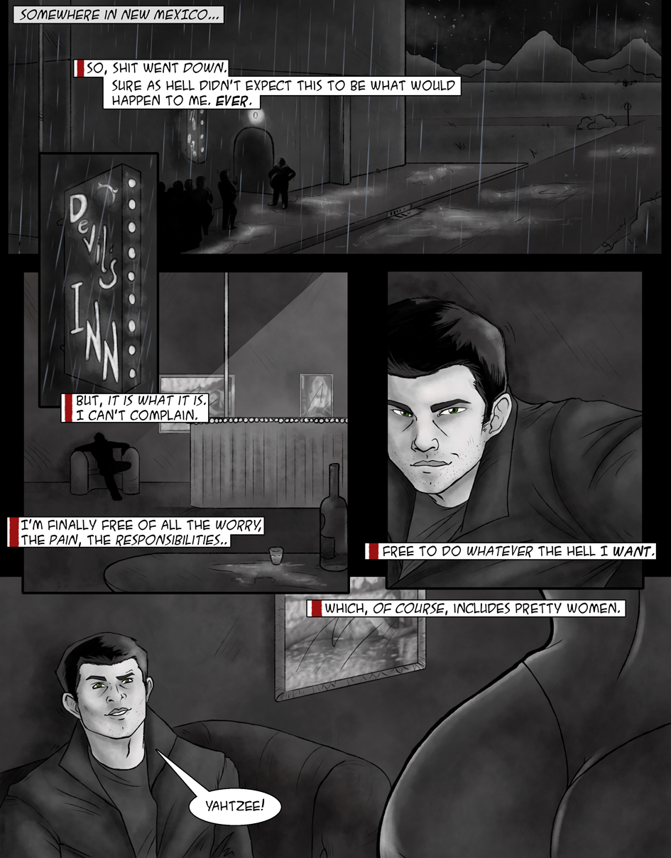 Demon Within - Comic Page 1