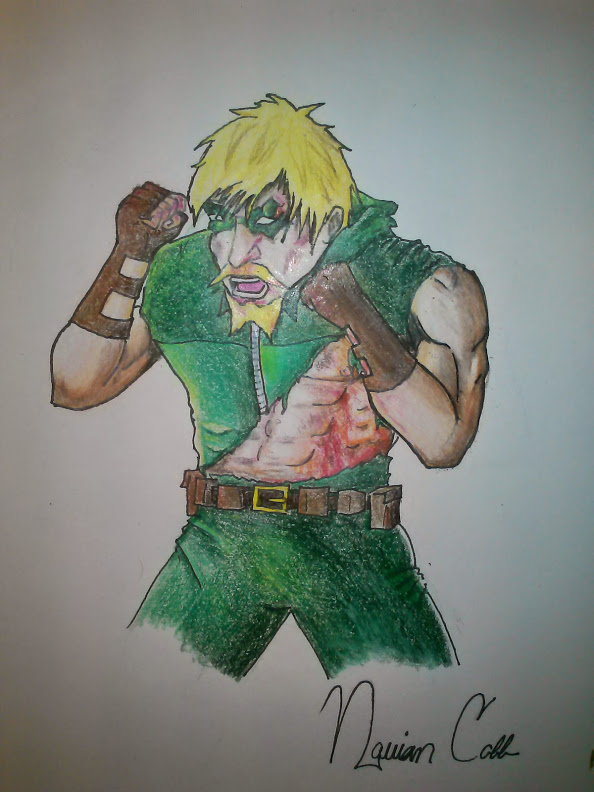 Green Arrow in Fight Club