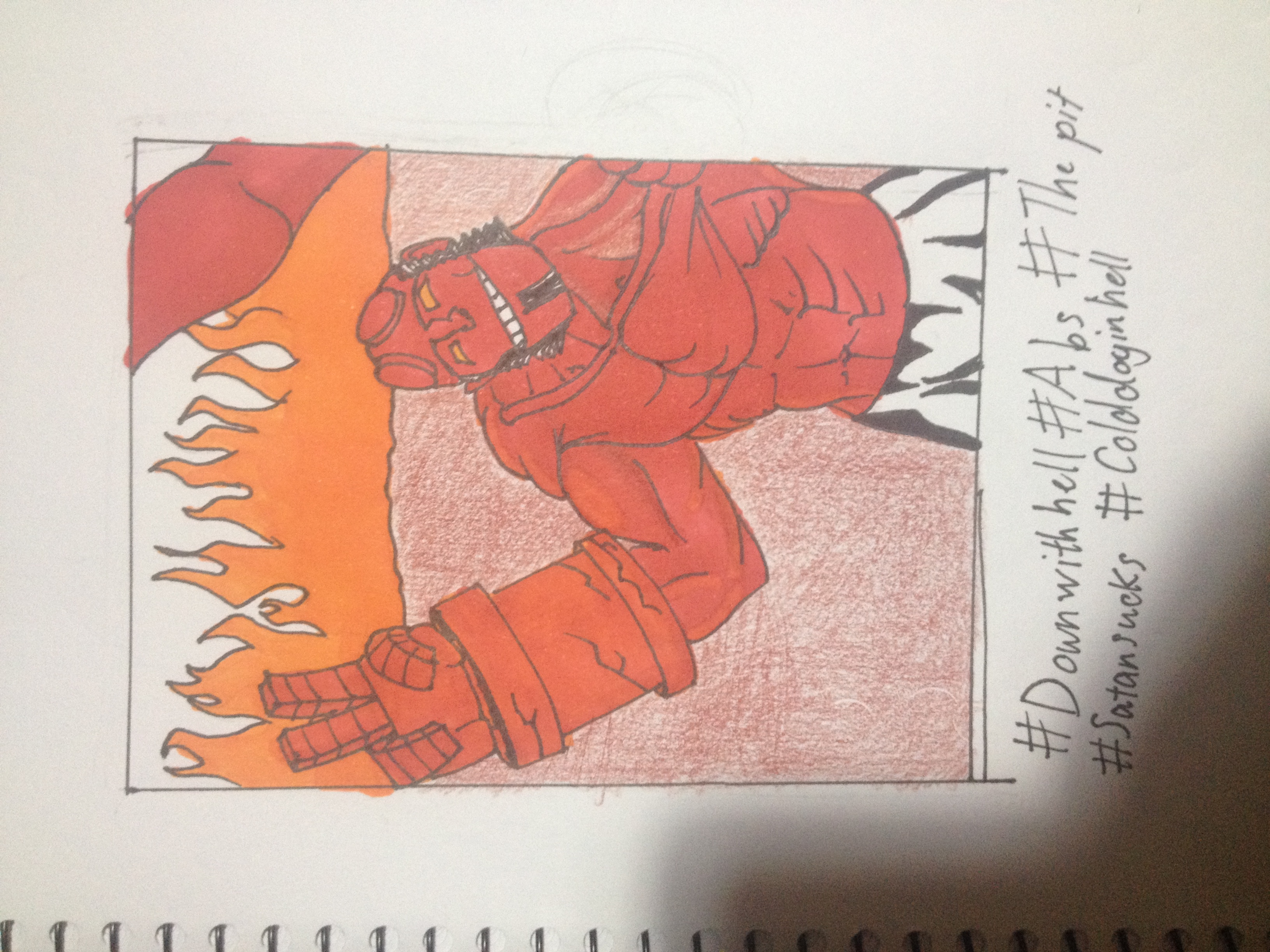 Hellboy goes to hell