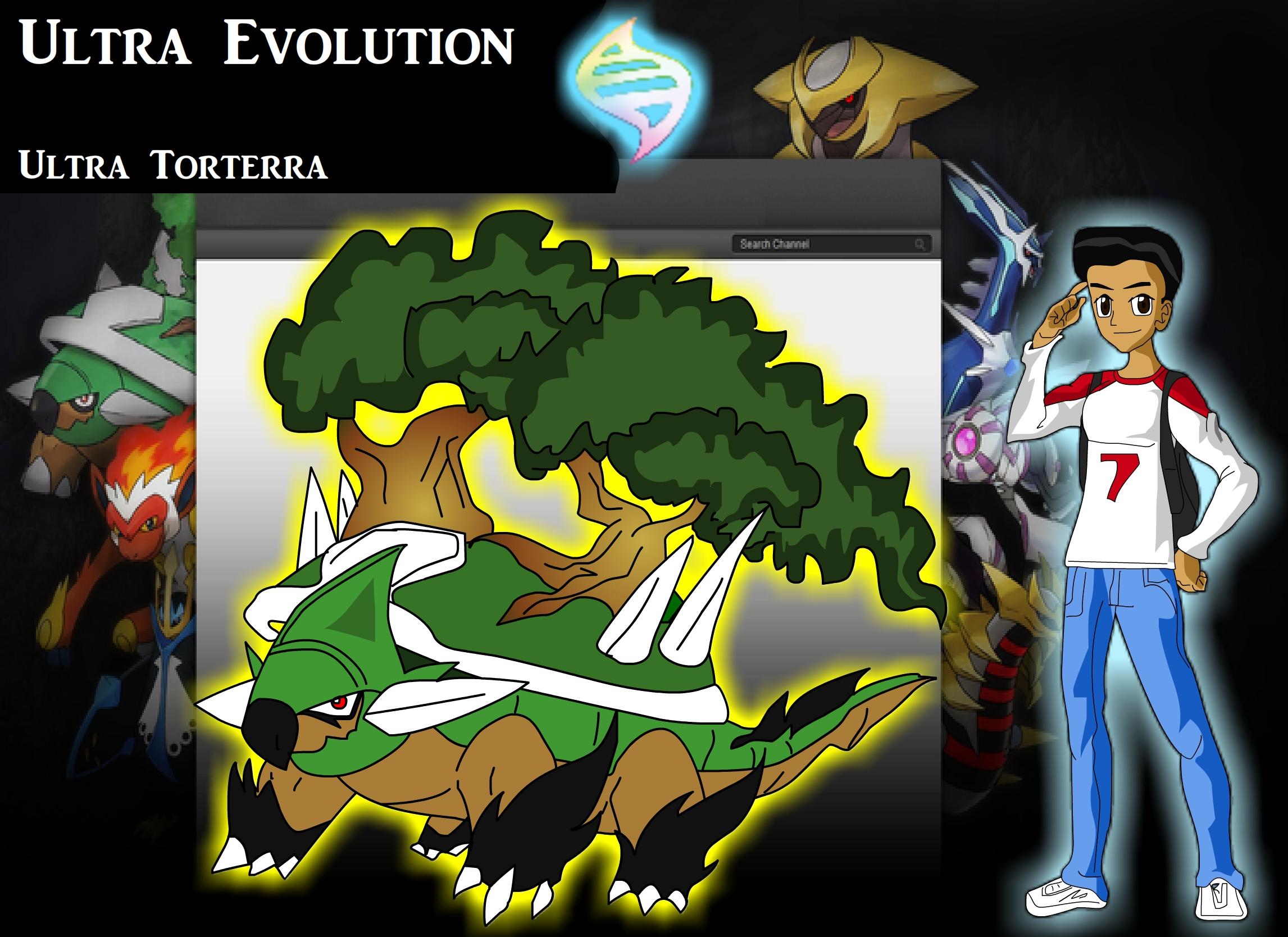 Pokemon z Rojay torterra