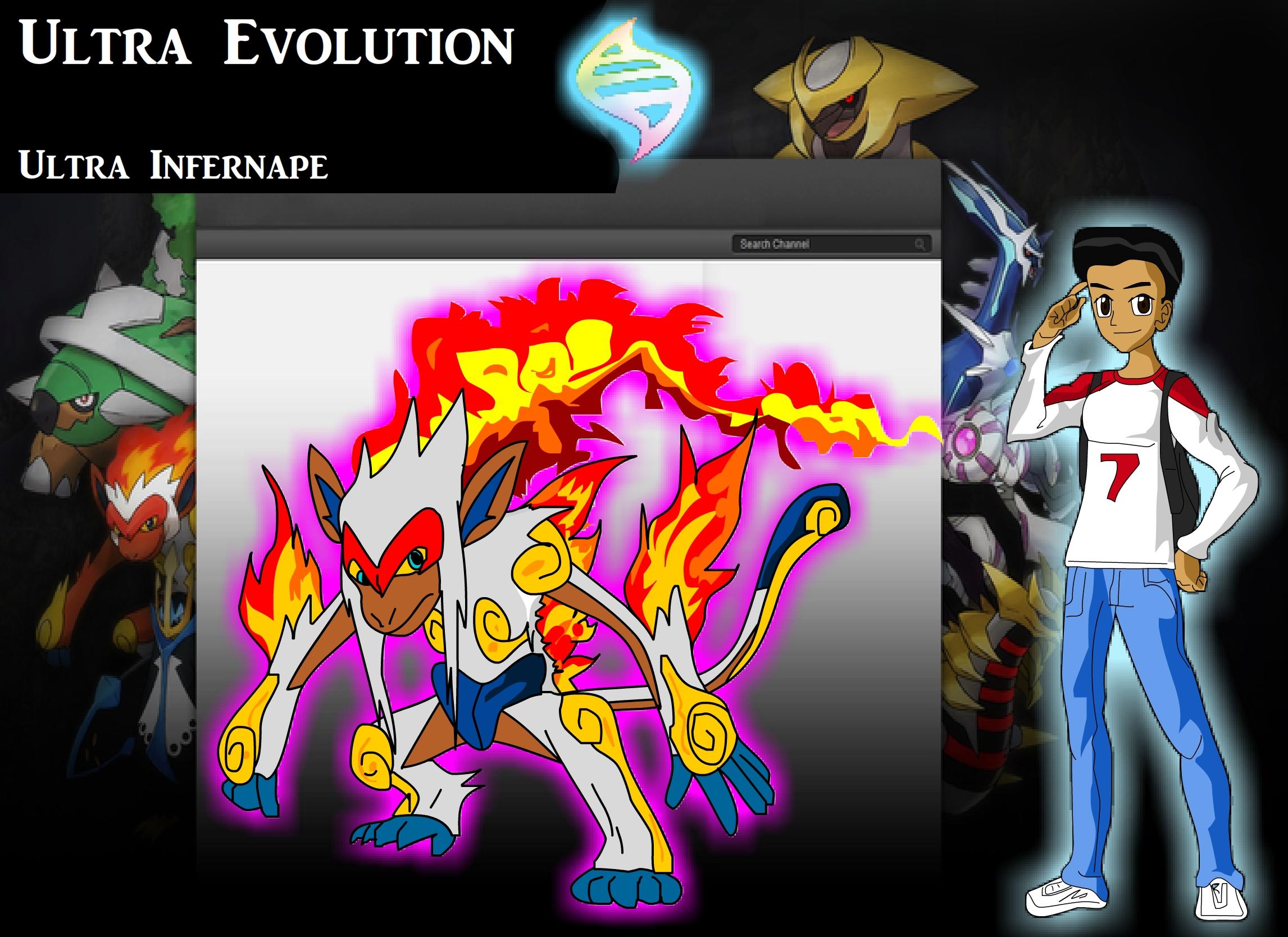 Pokemon z Rojay infernape