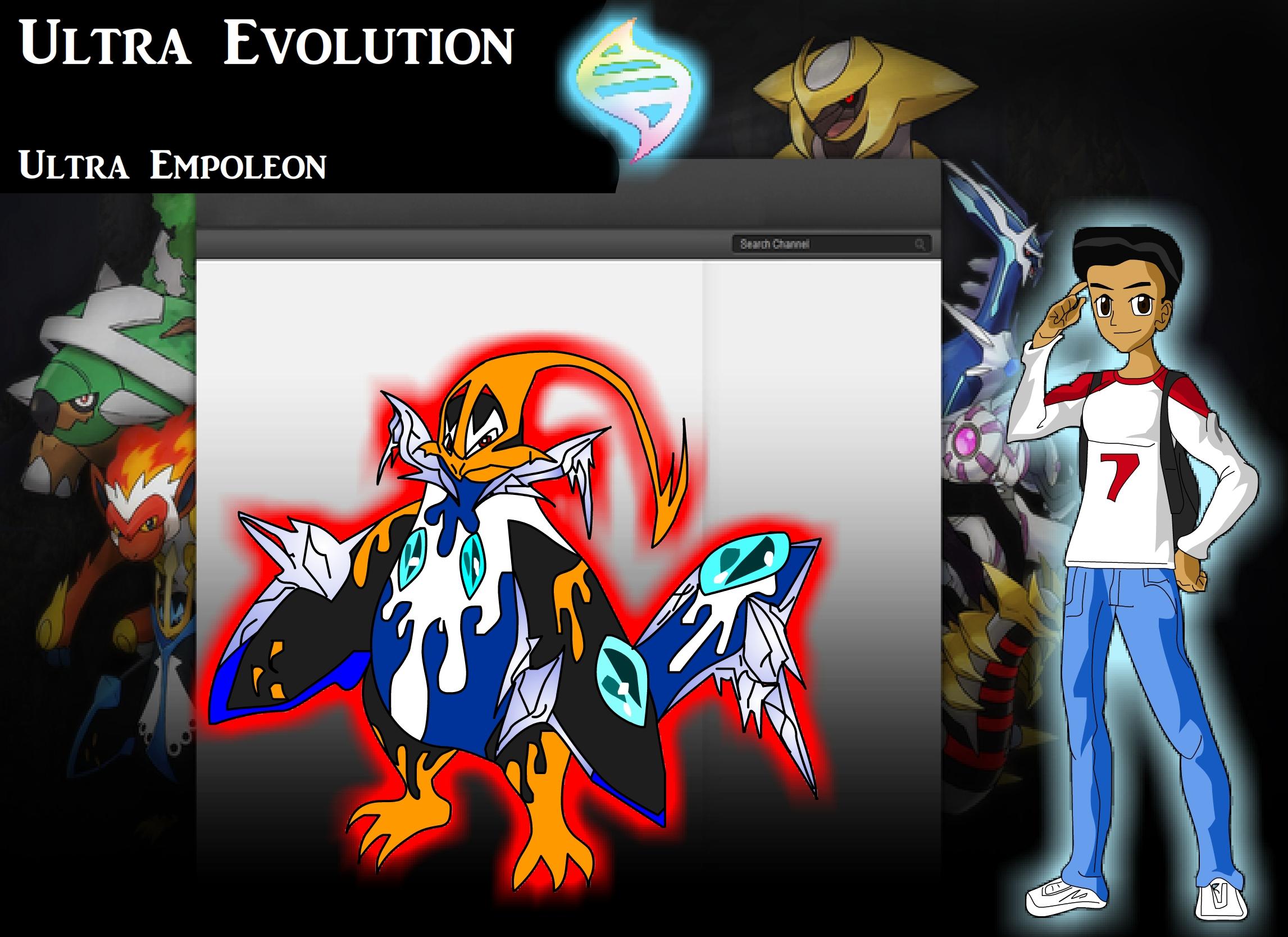 Pokemon z Rojay empleon