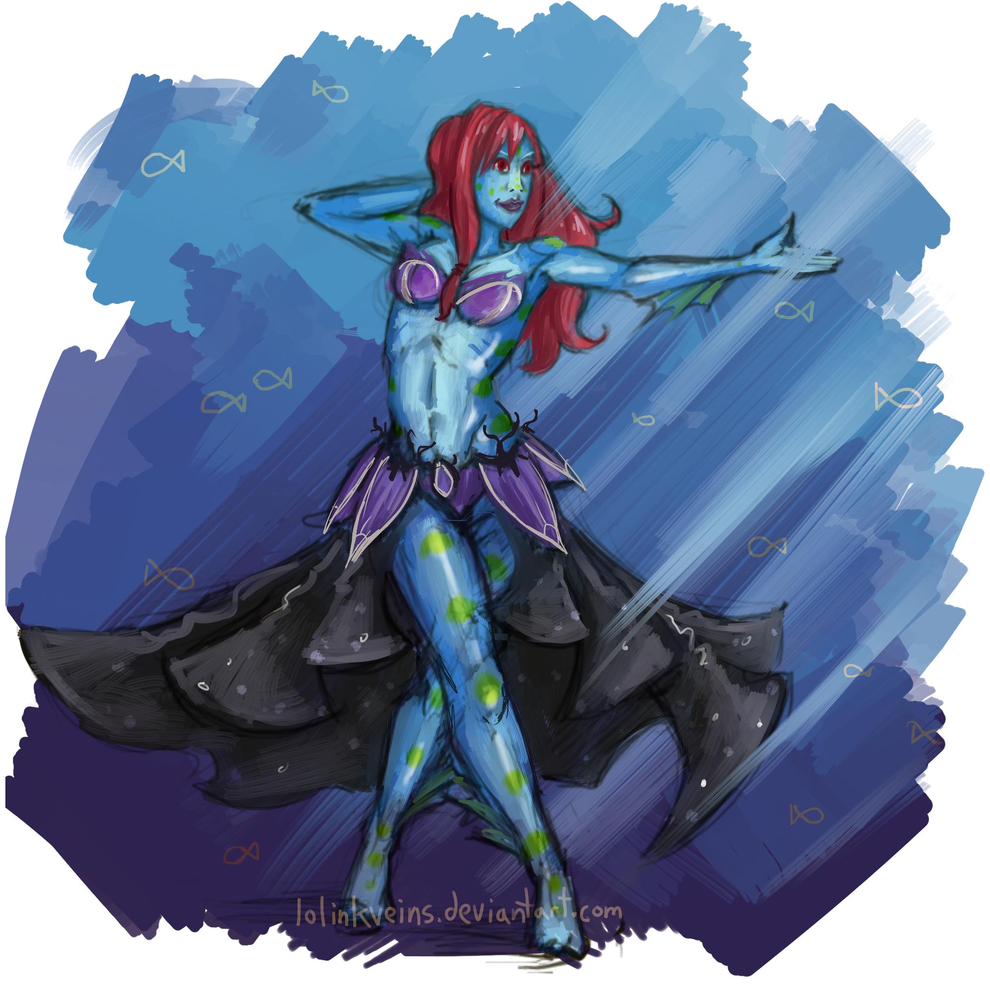 Neato fish lady