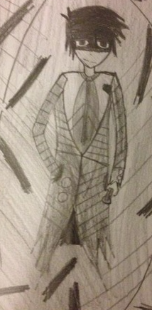 Old drawing of Larry from Exit