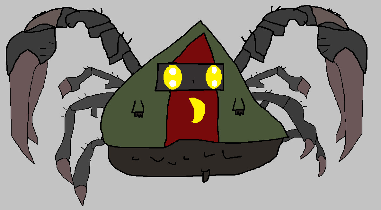 Evil Wizard(Spider Form)