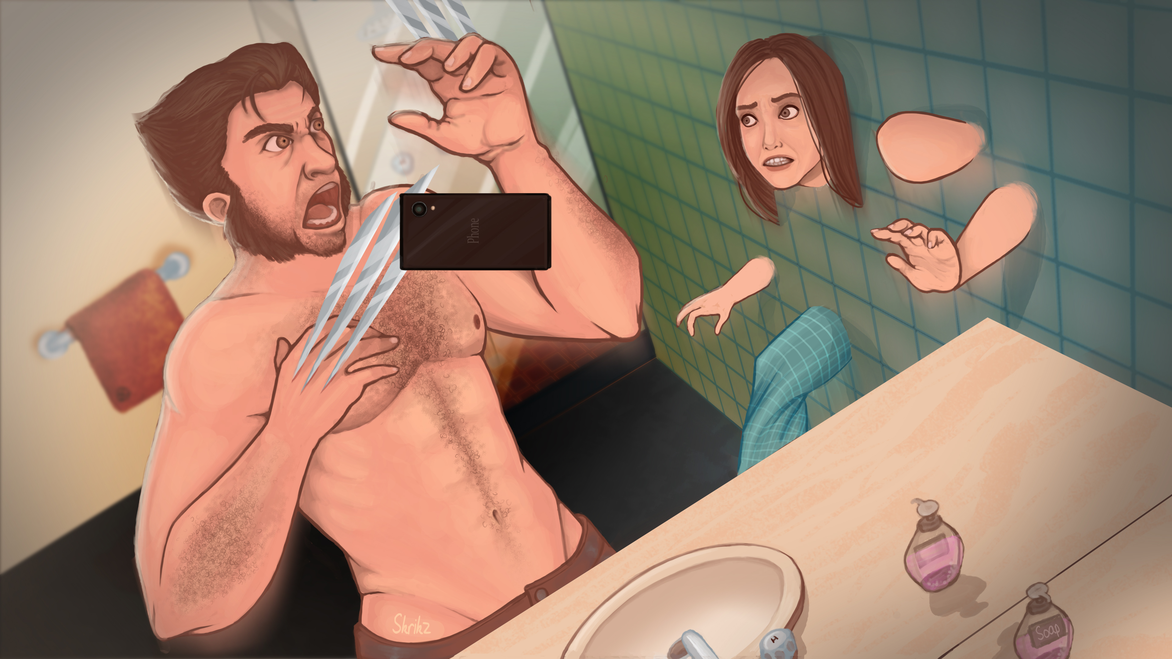 Wolverine's Selfie