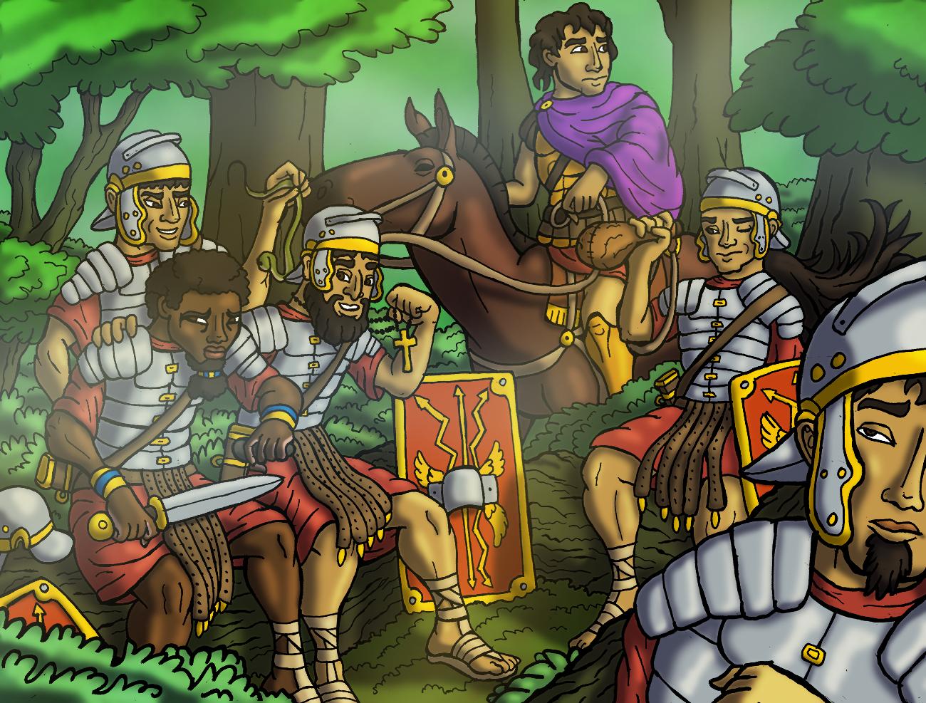 Romans Recuperating