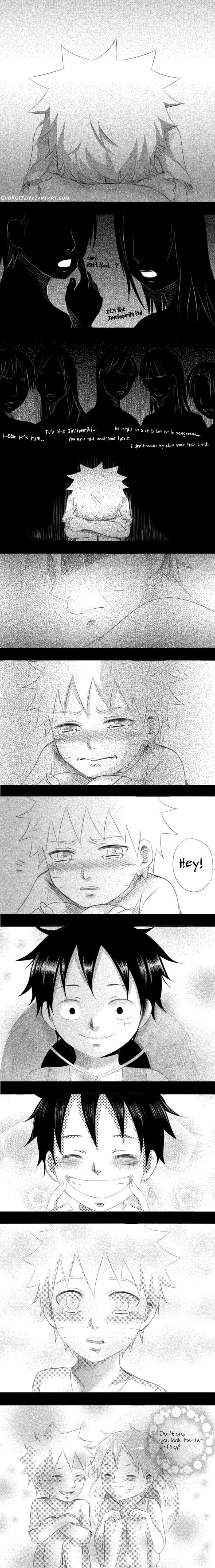 Don't cry .smile