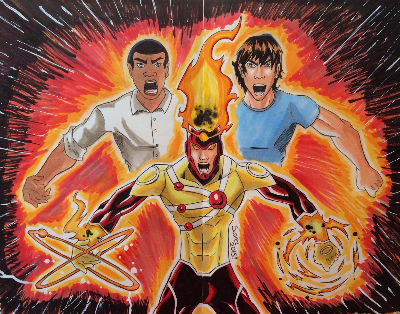 We are Firestorm!