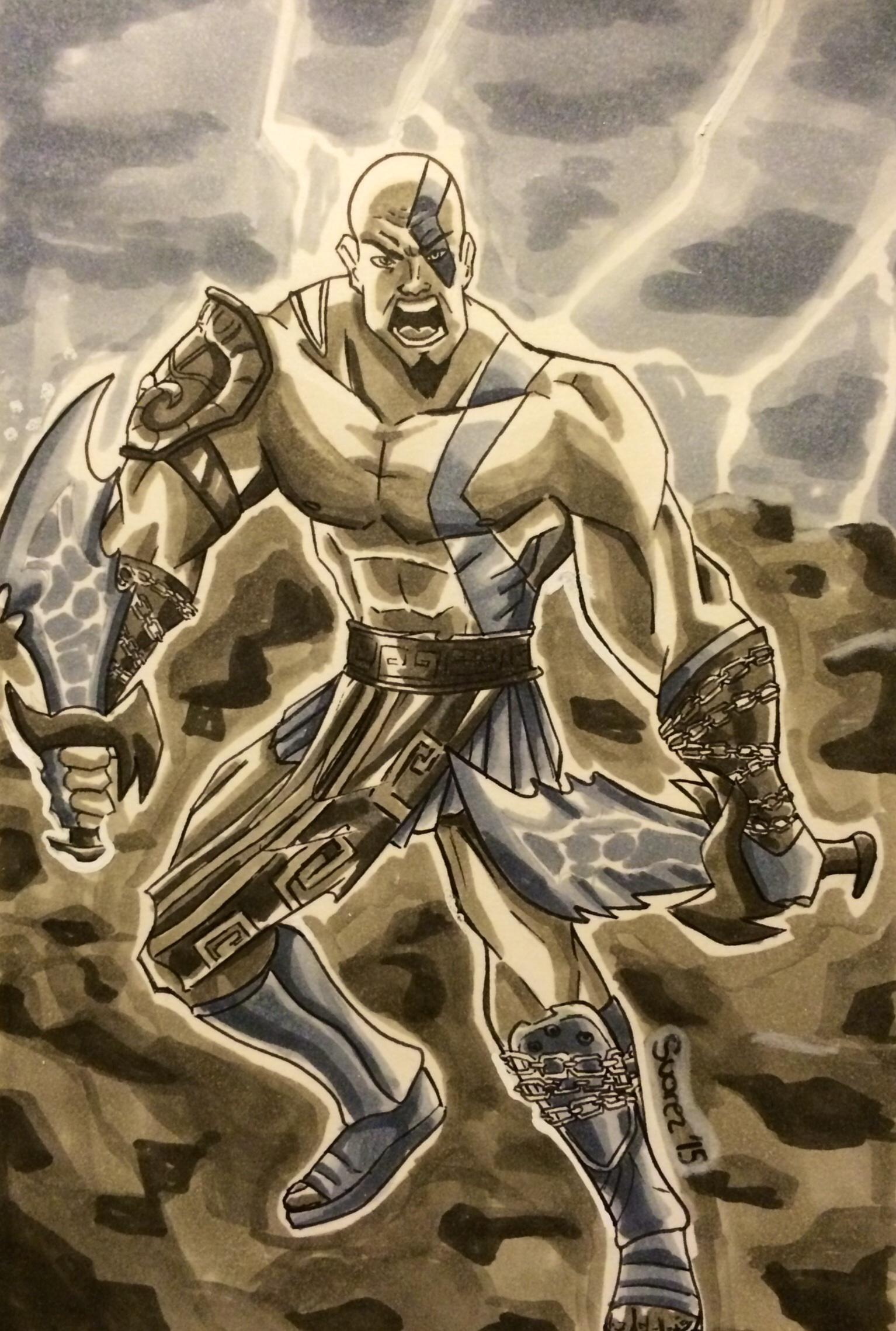 Kratos: The God of War
