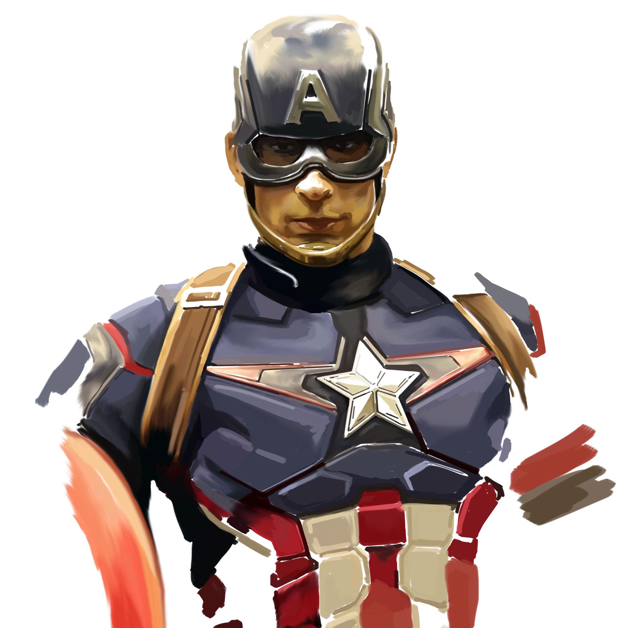 Cap Age of Ultron Armor