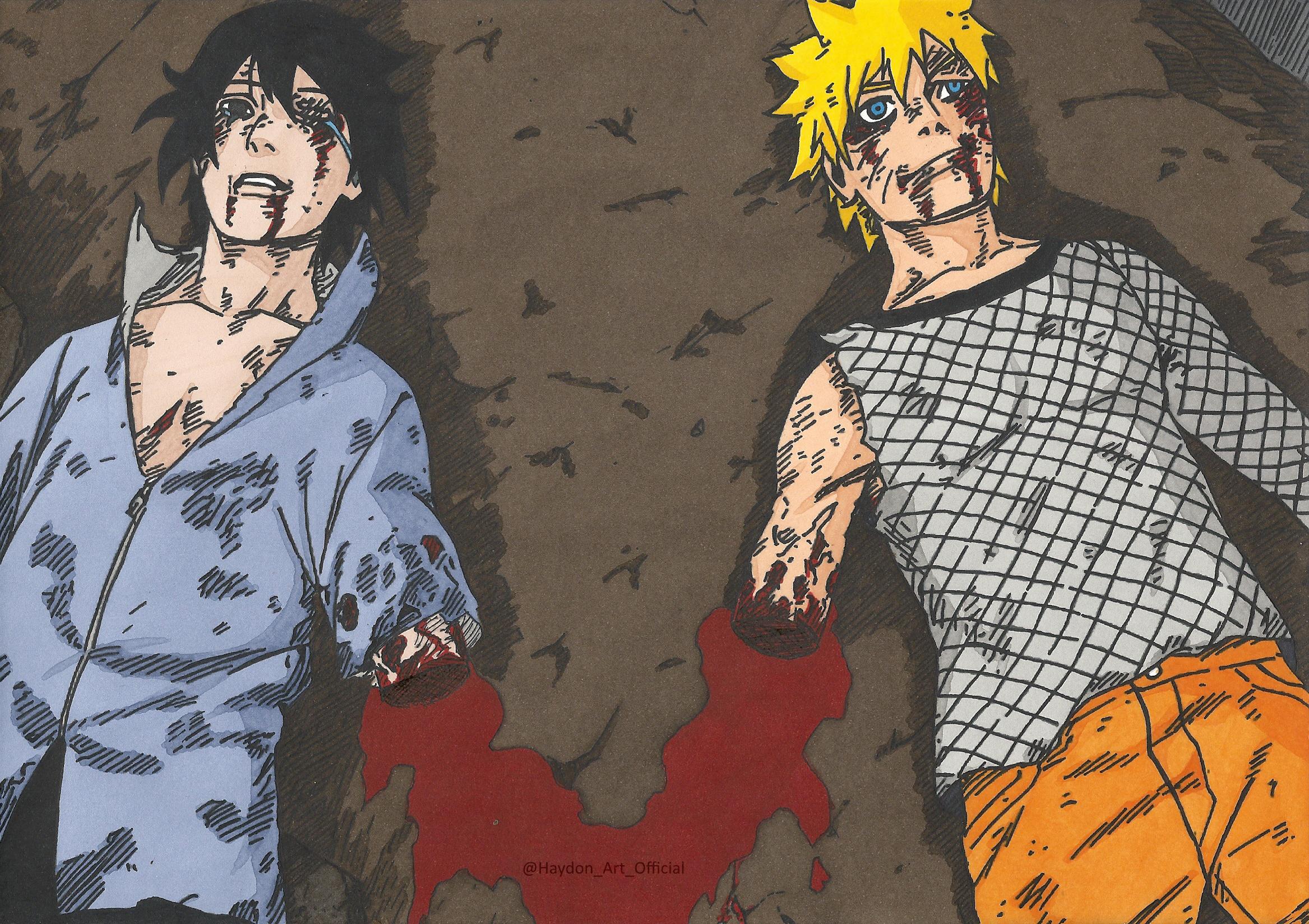 Sasuke Uchiha Naruto Uzumaki