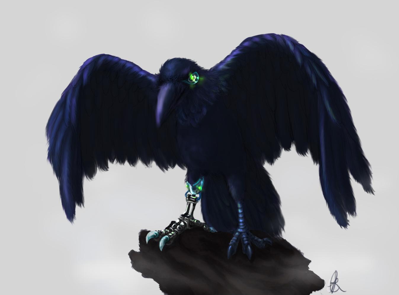 Bionic Raven