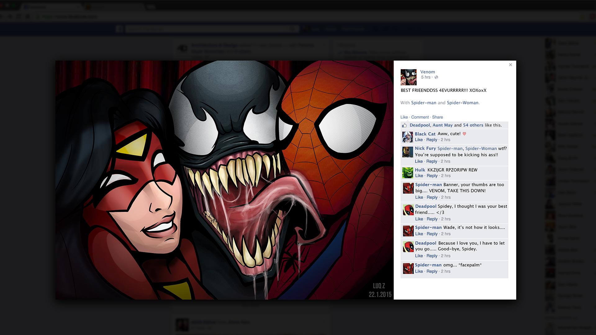 Spider Selfies!