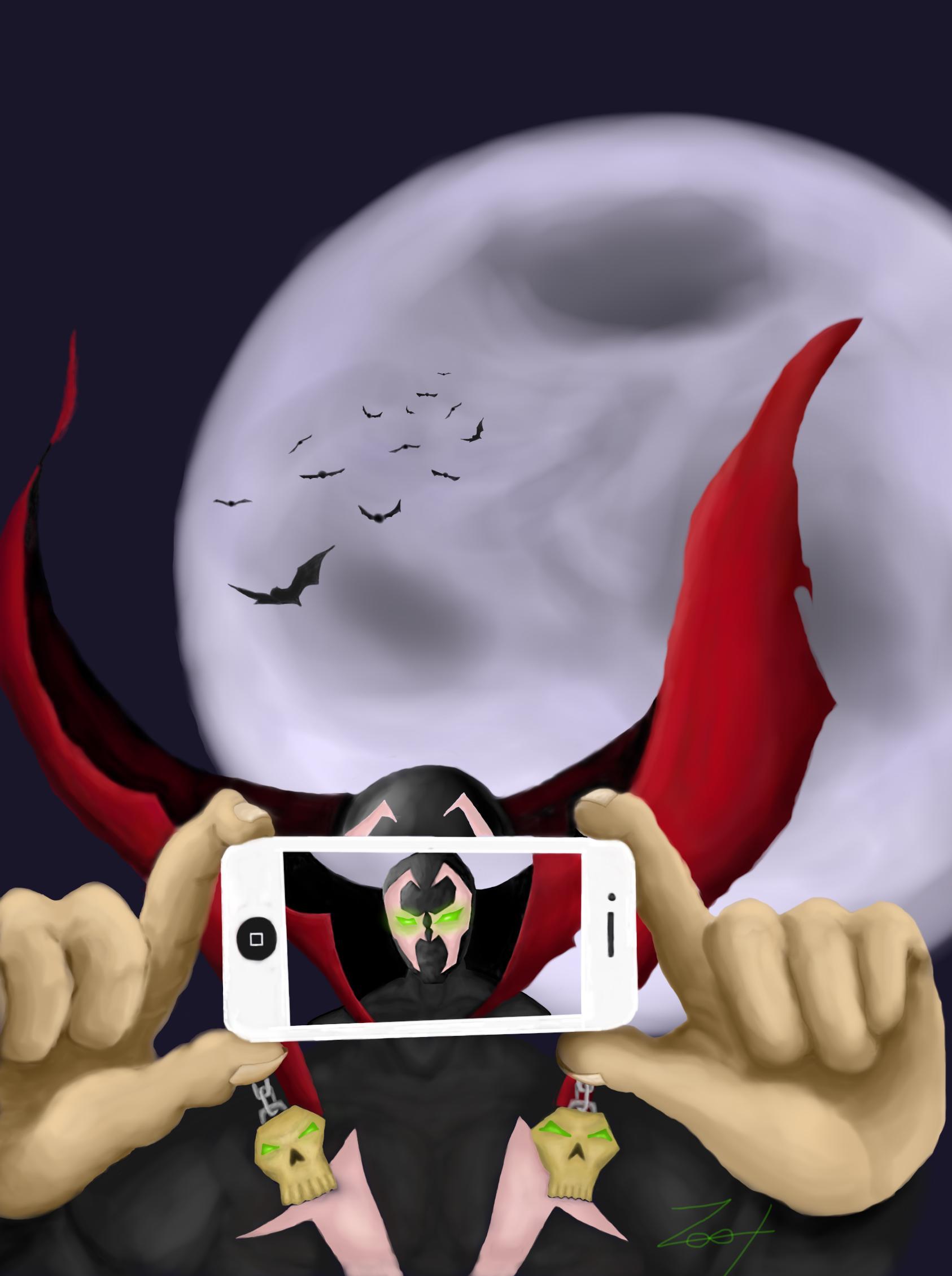 Spawn Selfie