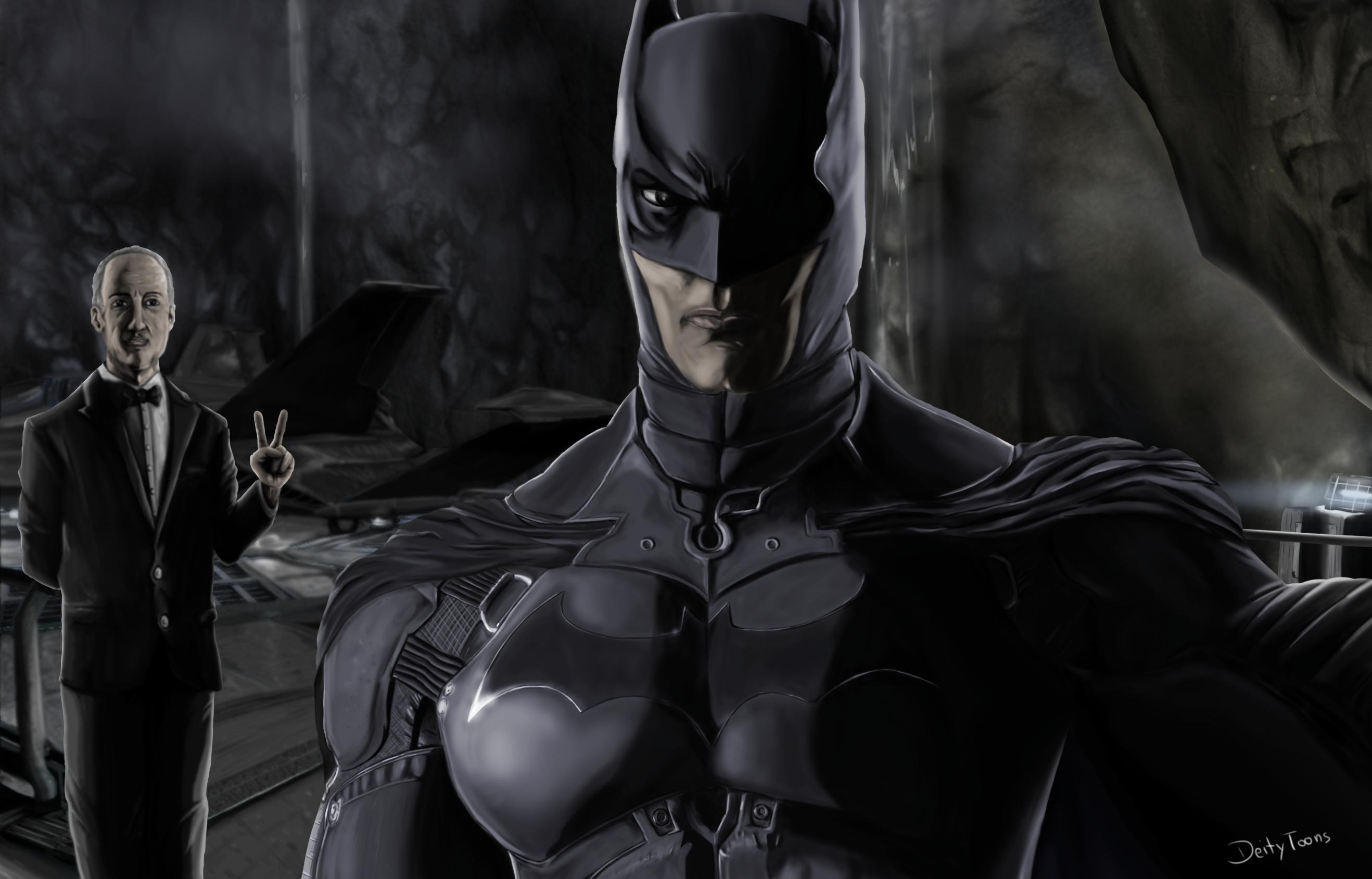 Batcave Selfie