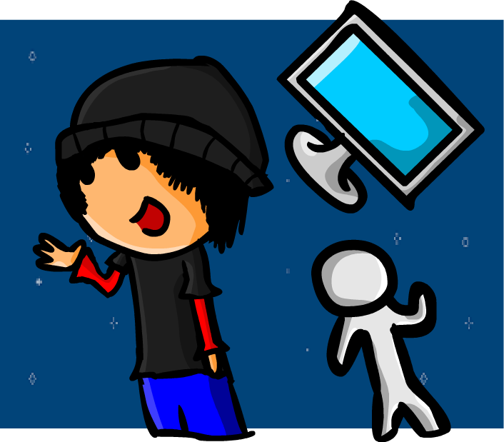 Me but in cartoon style :3