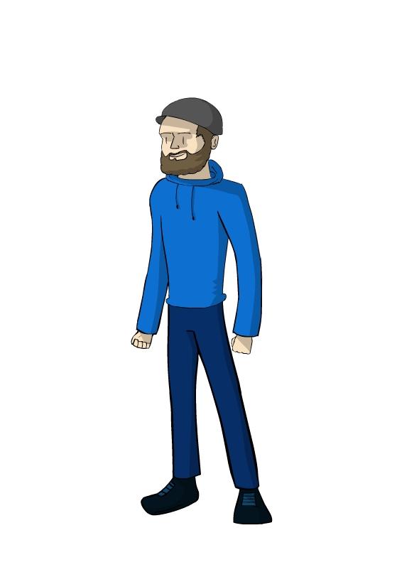 JackSepticEye with a beard