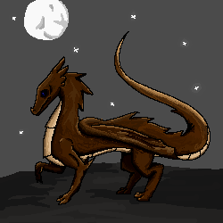 pixel dragon