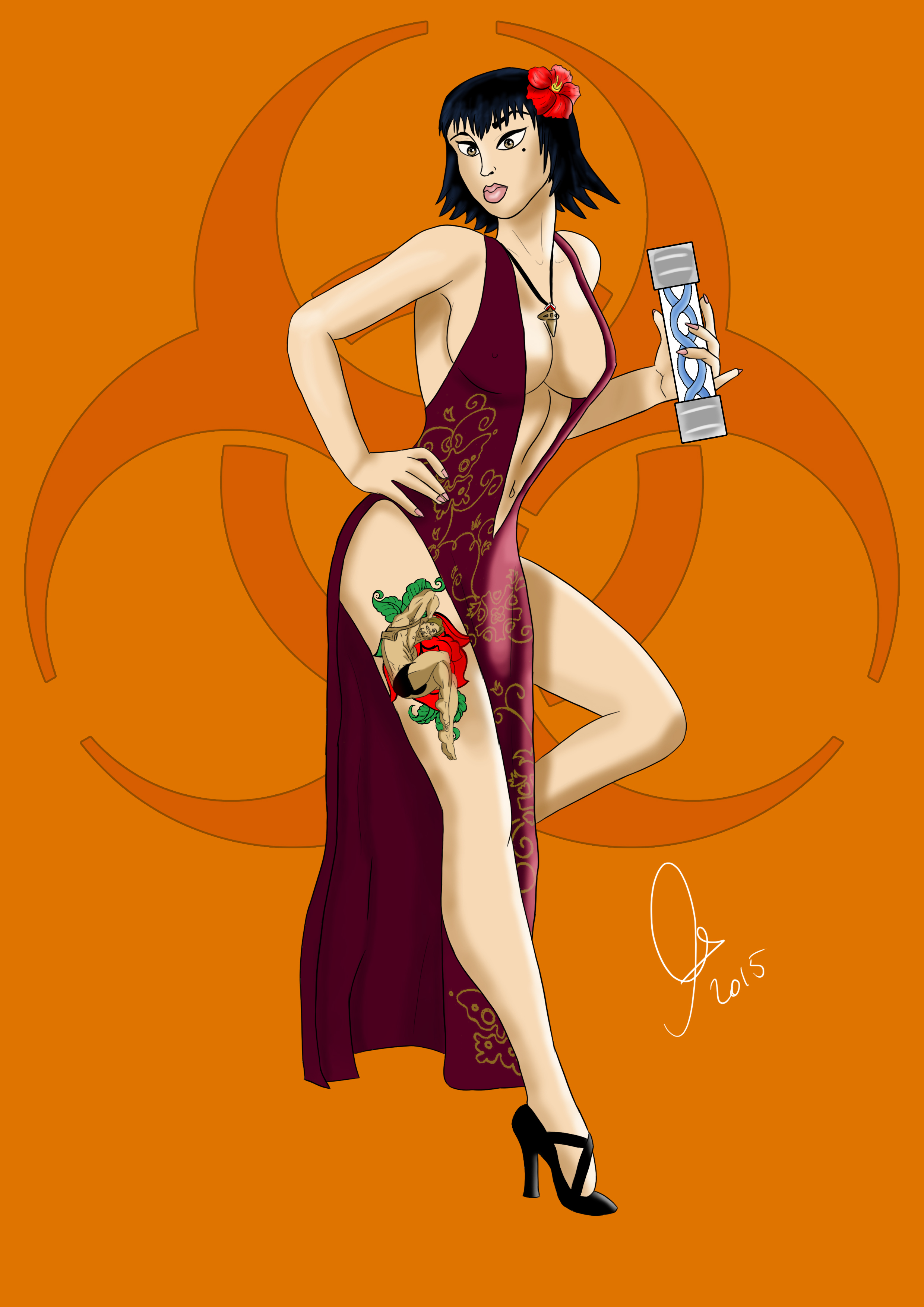 Pin-Up Ada Wong