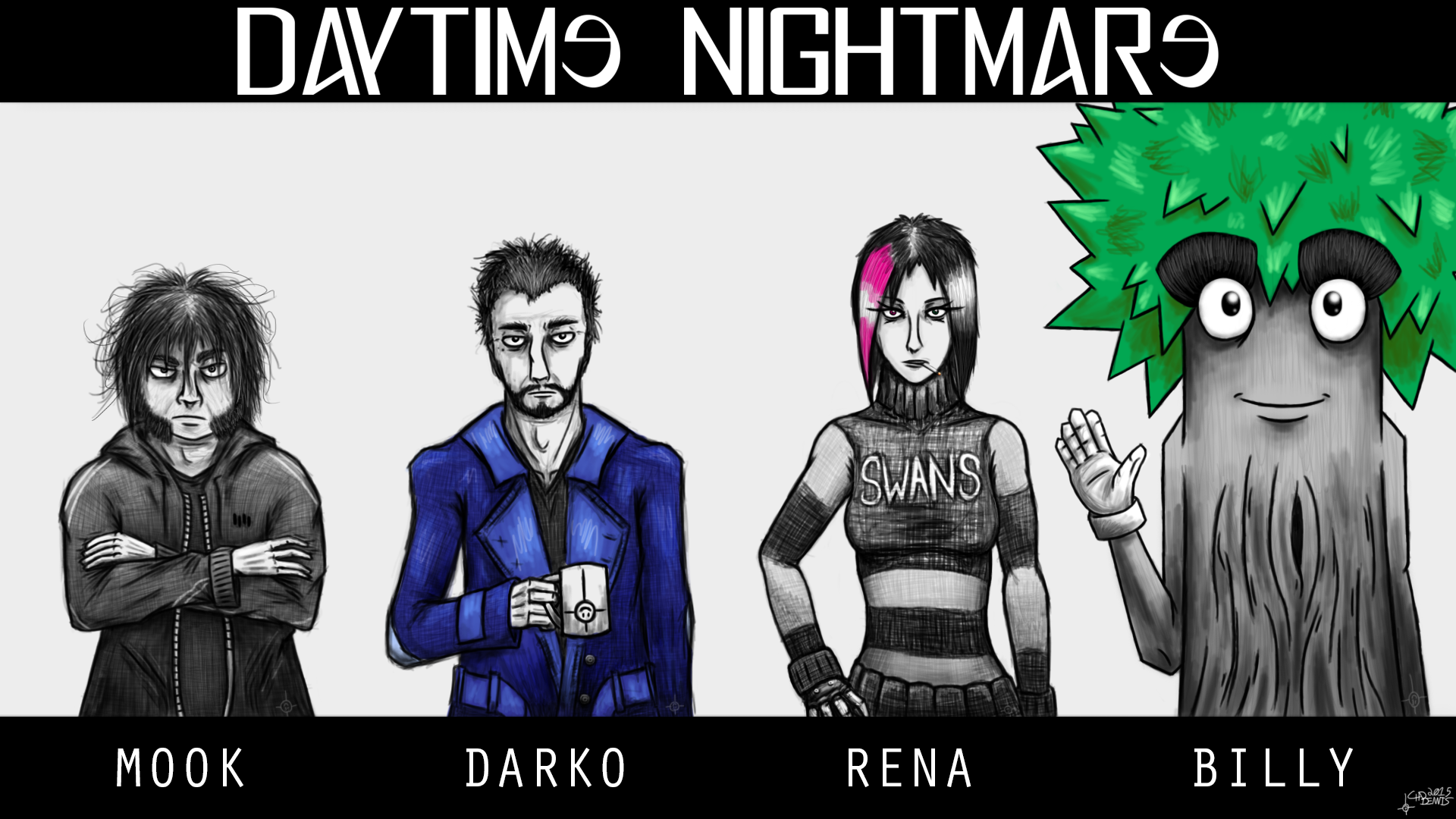 Daytime Nightmare Protagonists