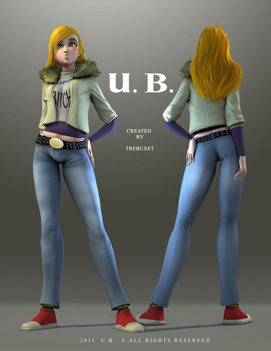 Uni Bitch 3D double side