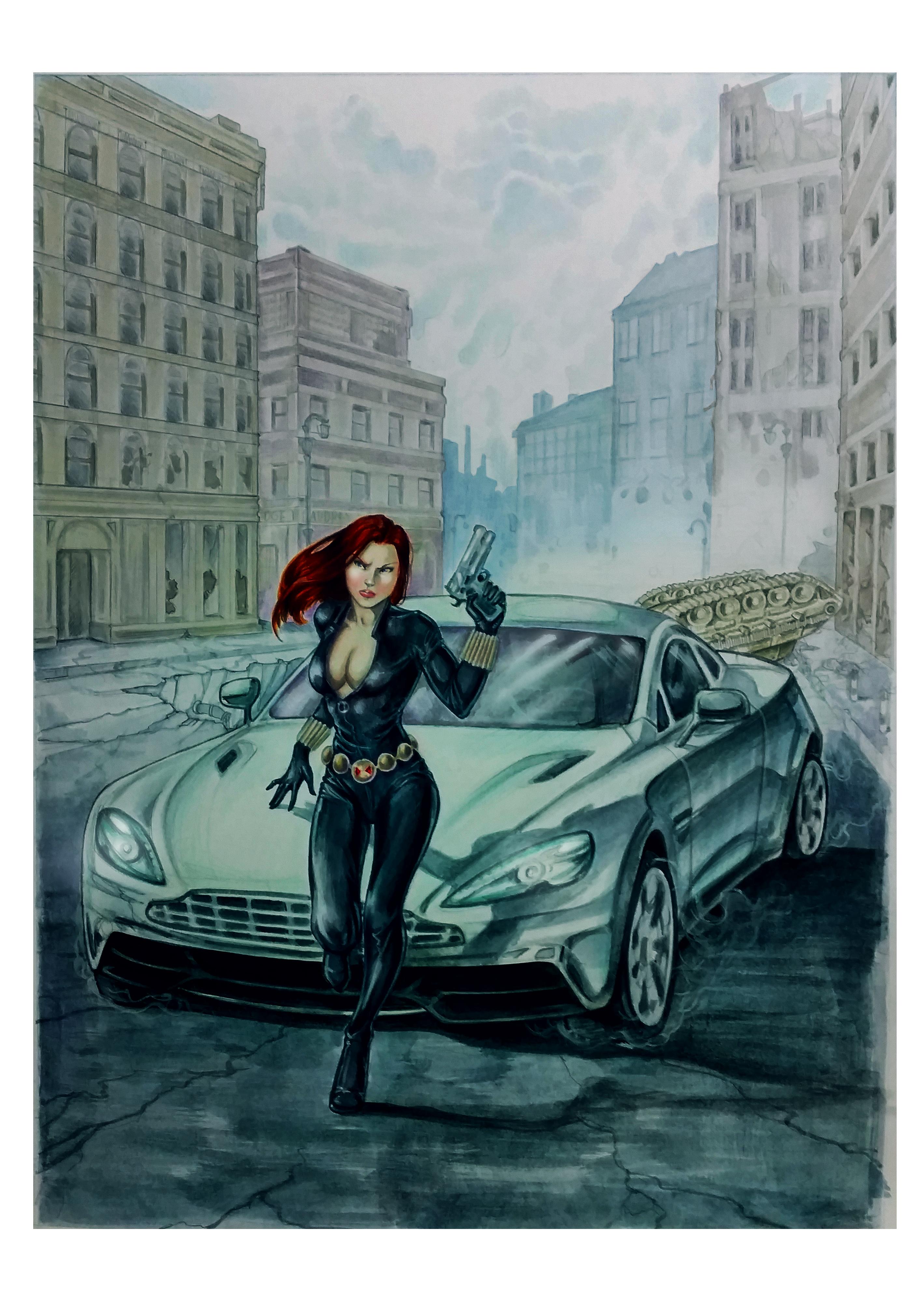 The Black Widow