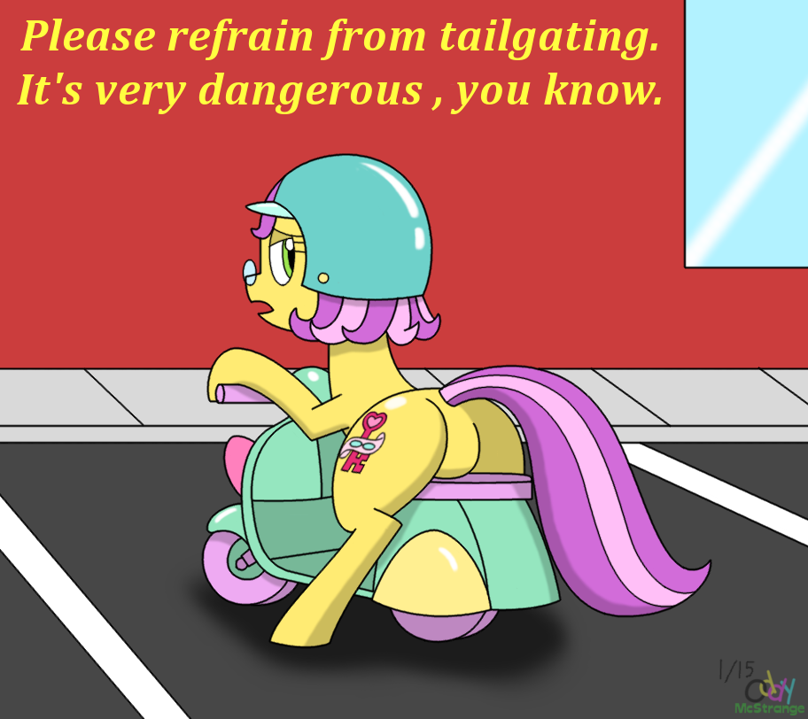 No Tailgating, Please.