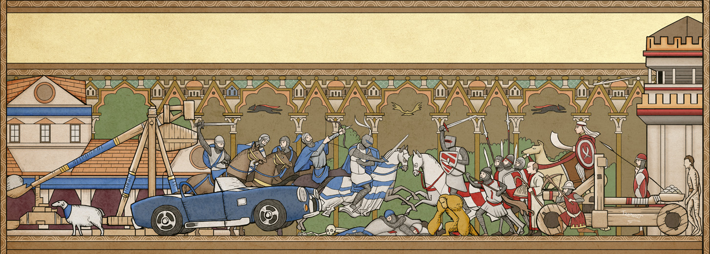 AOE2 Medieval Battle