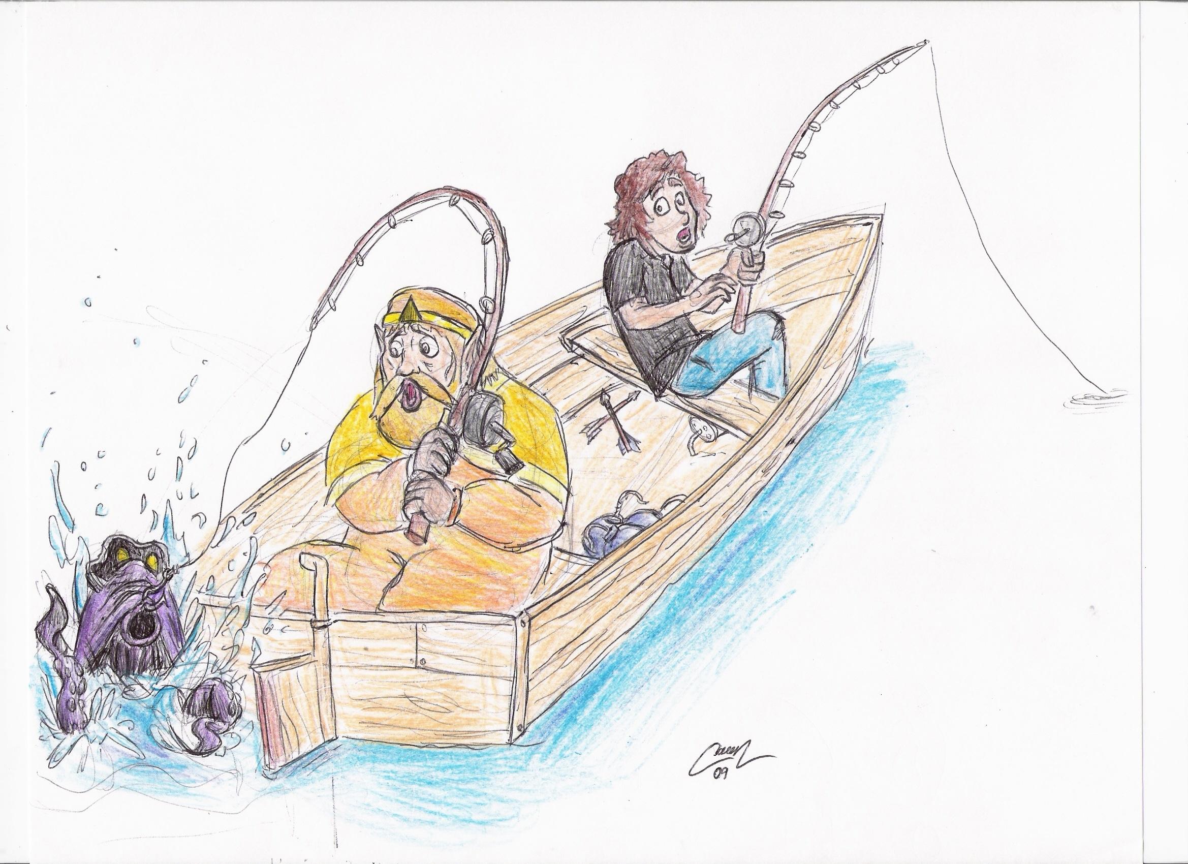 Octorok Fishing