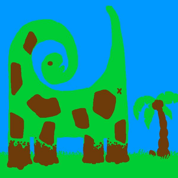 TriColour Dinosaur