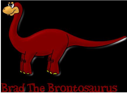 Brad the Brontosaurus