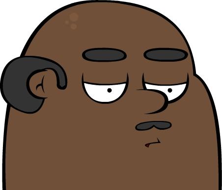 Fat Black Man
