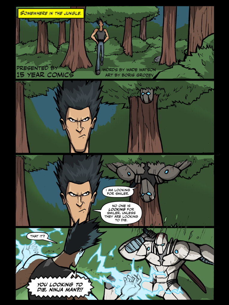 SOMEWHERE IN THE FOREST PAGE 1