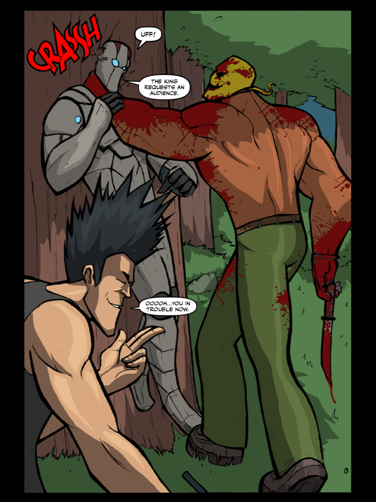 SOMEWHERE IN THE FOREST PAGE 3