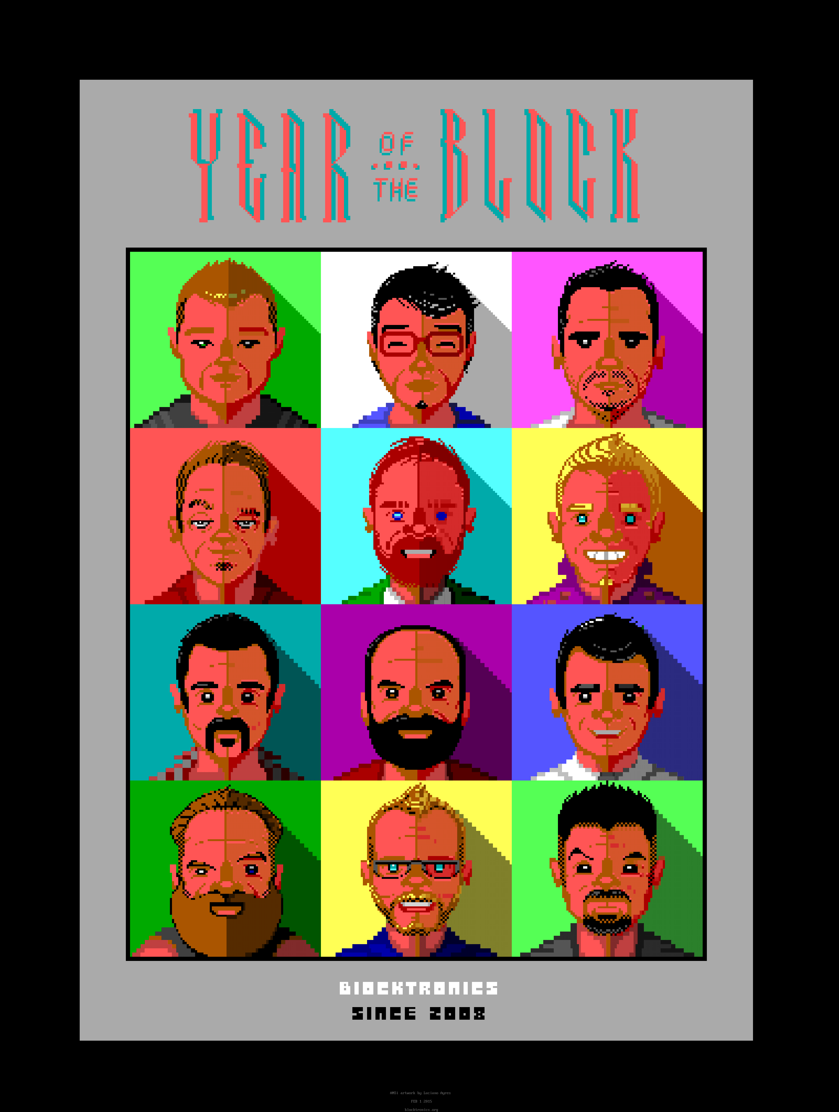Year of the Block Poster