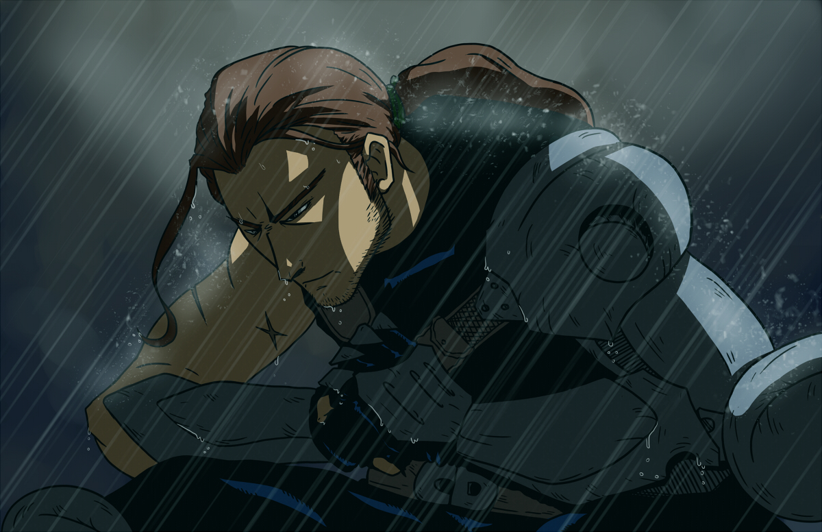 Ceade in the Rain