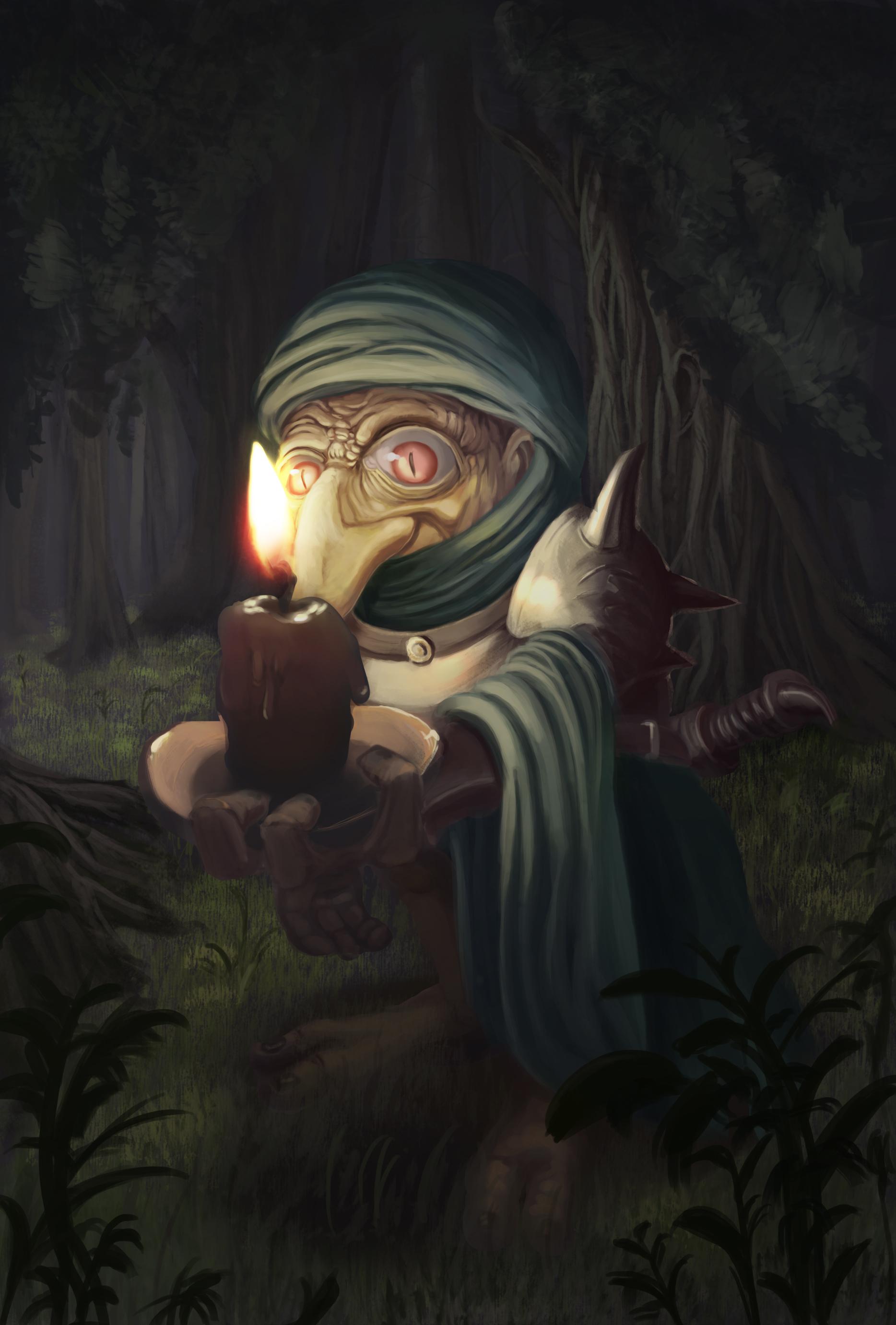 Candle Bearer