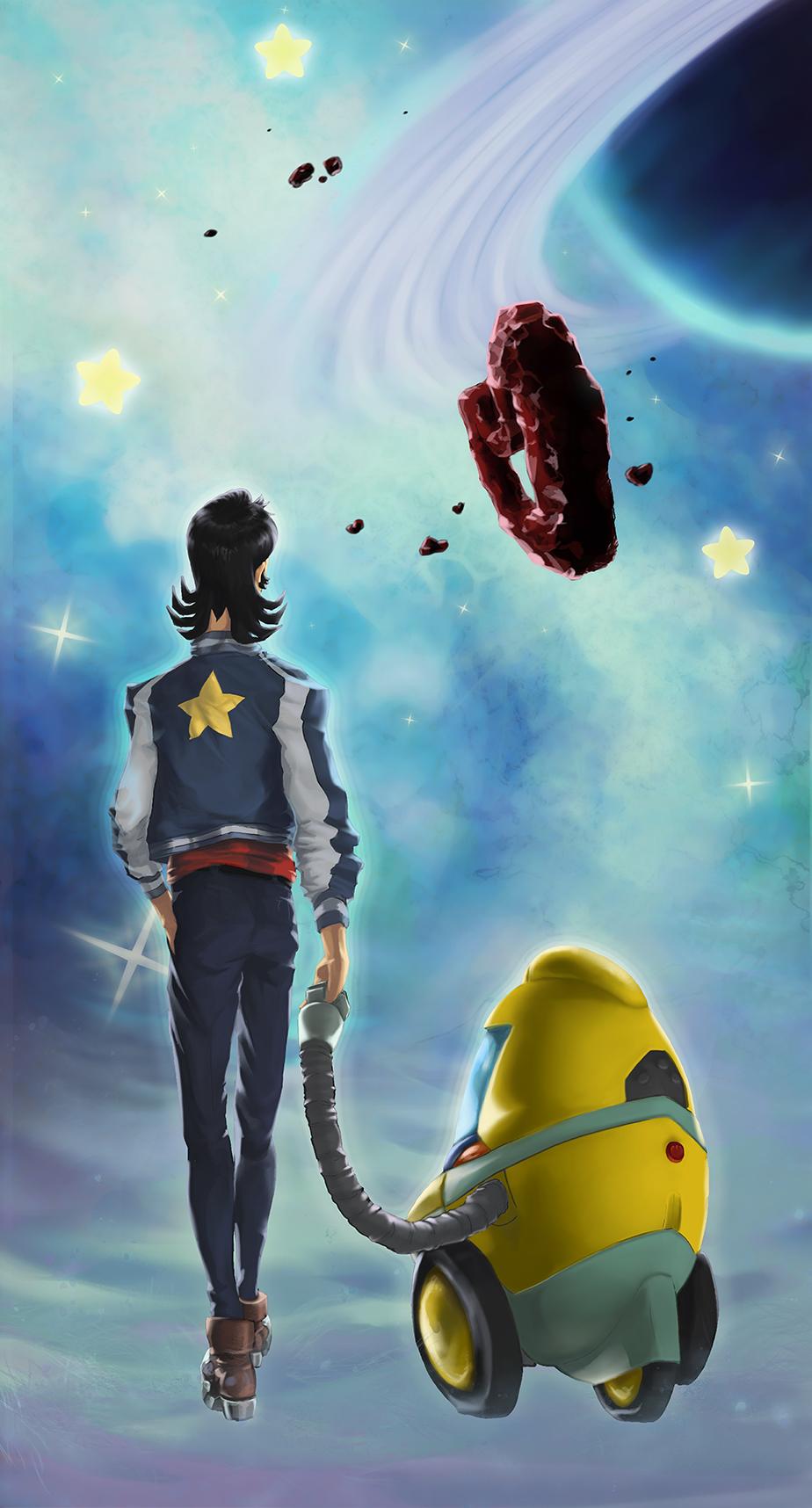 Space Dandy robomance
