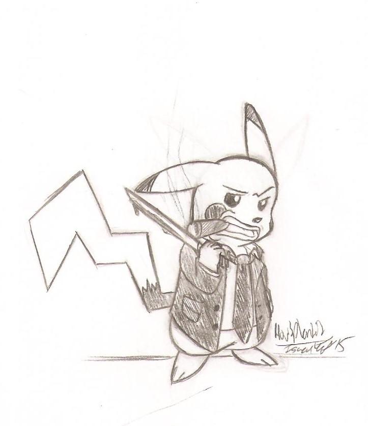 Yakuza Pikachu